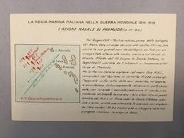 WARSHIP  KRIEGSCHIFFE  VIRIBUS UNITIS   PREMUDA CROATIA  LA REGIA ITALIANA NELLA GUERRA MONDIALE 1915-1918. MAP - Guerra