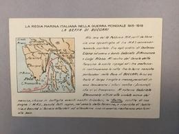 WARSHIP  KRIEGSCHIFFE  VIRIBUS UNITIS  BUCCARI  BAKAR  LA REGIA ITALIANA NELLA GUERRA MONDIALE 1915-1918. MAP - Guerra