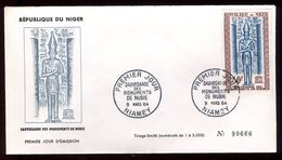 Niger - Enveloppe FDC 1964 - Monuments De Nubie - O 285 - Niger (1960-...)