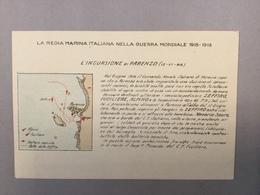 WARSHIP  KRIEGSCHIFFE  VIRIBUS UNITIS PARENZO  POREČ  POREC  LA REGIA ITALIANA NELLA GUERRA MONDIALE 1915-1918. MAP - Guerra