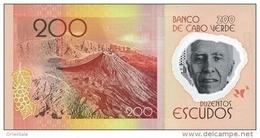 CAPE VERDE P. 71 200 E 2014 UNC - Kaapverdische Eilanden