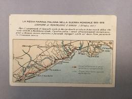 WARSHIP KRIEGSCHIFFE VIRIBUS UNITIS SGOMBRO DI MONFALCONE E GRADO LA REGIA ITALIANA NELLA GUERRA MONDIALE 1915-1918 - Guerra
