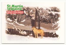 SAINT MARTIN LA PLAINE ESPACE ZOOLOGIQUE LOUP DU CANADA - Animales