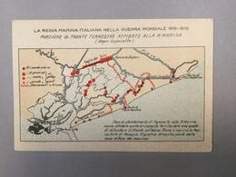 WARSHIP KRIEGSCHIFFE VIRIBUS UNITIS PORZIONE DI FRONTE TERRESTRE AFFID LA REGIA ITALIANA NELLA GUERRA MONDIALE 1915-1918 - Guerra