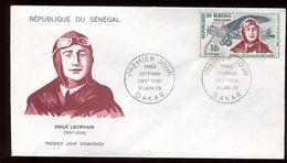 Sénégal - Enveloppe FDC 1970 - Aviation - O 297 - Sénégal (1960-...)