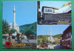 City Of PRIZREN Fountain, Mosque, Old House, Kosovo (Serbia). New Postcards - Kosovo