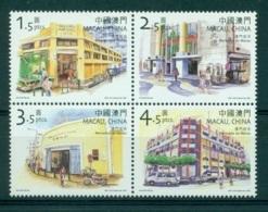 MACAO CHINE 1065/68 Marchés - 1999-... Région Administrative Chinoise