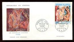 Sénégal - Enveloppe FDC 1967 - Oeuvre De Picasso - O 302 - Sénégal (1960-...)