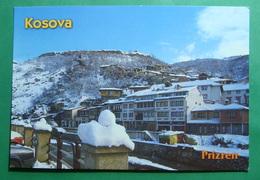 City Of PRIZREN Roman Castle, Snow, Winter, Kosovo (Serbia). New Postcards - Kosovo