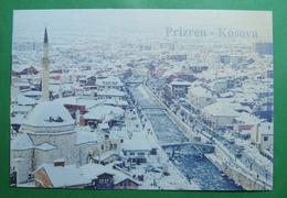 City Of PRIZREN River Bistrica, Mosque, Snow, Winter, Kosovo (Serbia). New Postcards - Kosovo