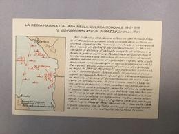 WARSHIP KRIEGSCHIFFE VIRIBUS UNITIS IL BOMBARDAMENTO DI DURAZZO  LA REGIA ITALIANA NELLA GUERRA MONDIALE 1915-1918. - Guerra