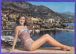 Carte Postale Pin-Ups  Lady De Monte-Carlo  Monaco - Pin-Ups