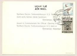 Turkiye / Turkije - 1969 - Cover And Card FDC Auguration Of Automatic Telephone Exchange - Brieven En Documenten