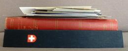 Switzerland/Suisse/Svizzera Collection In Davo Binder+stockbook+loose Used/gebruikt/oblitere - Timbres