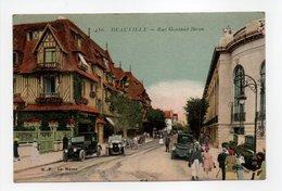 - CPA DEAUVILLE (14) - Rue Gontaud-Biron 1927 (belle Animation) - Edition G. F. 456 - - Deauville