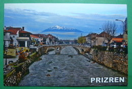 City Of PRIZREN Roman Bridge, River Bistrica, Mountain Pastrik Kosovo (Serbia). New Postcards - Kosovo