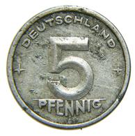 [NC] GERMANIA DDR - 5 PFENNIG 1948 A - [ 6] 1949-1990 : RDA - Rep. Dem. Tedesca