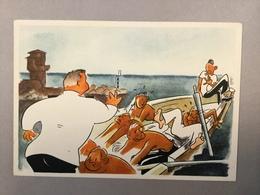Cartolina Illustrata Accademia Navale 5° Corso Preliminare Navale 1941.  ITALIA   WAR  KRIEG   SHIP  BOAT  SCHIFFE - Guerra