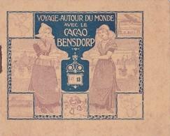 VOYAGE AUTOUR DU MONDE AVEC CACAO BENSDORP / 7 VUES STOCKHOLM ET 9 VUES CHRISTIANIA Vers 1910 - Denmark