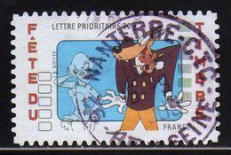 """FRANCE : N° 4151 Oblitéré """"TàD Rond"""" (Fete Du Timbre : La Girl Et Le Loup) - PRIX FIXE - - France"""