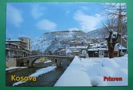 City Of PRIZREN, Roman Castle & Bridge, Snow, Winter, Kosovo (Serbia). New Postcards - Kosovo