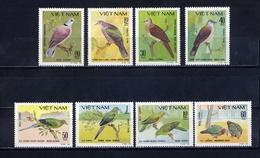 Y85 VIETNAM 1981 1163-1170 Birds - Pigeons. Fauna - Birds