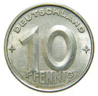 [NC] GERMANIA DDR - 10 PFENNIG 1953 A - [ 6] 1949-1990 : RDA - Rep. Dem. Tedesca
