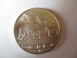 Switzerland: Medal Silver 125 Yr Railway - Professionnels / De Société