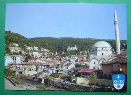 City Of PRIZREN, Serbian Church, Turkish Mosque, (Serbia). New Postcards GERMAN ARMY. - Kosovo