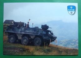 City Of PRIZREN, German Tank, Kosovo (Serbia). New Postcards GERMAN ARMY. - Kosovo