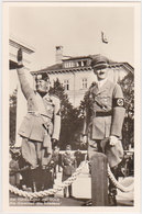 GERMANY 1937 PHOTO PC MUSSOLINI VISIT BERLIN - Allemagne