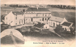 BRAINE-L' ALLEUD  Hôtel Du Musée  Le Lion. - Braine-l'Alleud