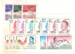 Yv.1/14 + Expres 1/2 - XX/MNH - Guinée Equatoriale