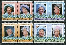 Grenadines De St Vincent  - Bequia ** - 85 Ans De La Reine-mère Elizabeth - St.Vincent & Grenadines