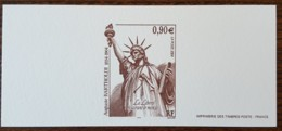 GRAVURE - YT N°3639 - Auguste Bartholdi / Statue De La Liberté - 2004 - Documents Of Postal Services