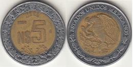 Messico 5 Nuevos Pesos 1994 Km#552 - Used - Messico