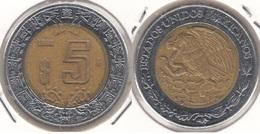 Messico 5 Pesos 1998 Km#605 - Used - Messico