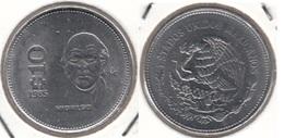 Messico 10 Pesos 1985 Km#512 - Used - Mexique