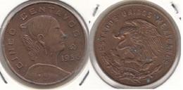 Messico 5 Centavos 1956 Km#426 - Used - Messico
