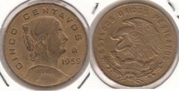 Messico 5 Centavos 1959 Km#426 - Used - Messico