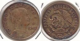 Messico 5 Centavos 1962 Km#426 - Used - Messico