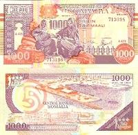 Somalia  P-37  1000 Shillings  1990  UNC - Somalie