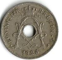 1 Pièce De Monnaie  10 Centimes  1925   Belgique NLD - 1909-1934: Albert I
