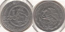Messico 20 Pesos 1980 Km#486 - Used - Messico