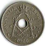 1 Pièce De Monnaie  10 Centimes  1930   Belgique NLD - 1909-1934: Albert I