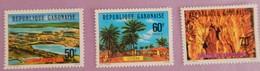 """GABON ANNEE 1977 """"VUES SUR LE GABON"""" YT 373/375 SERIE COMPLETE (**) - Gabon (1960-...)"""