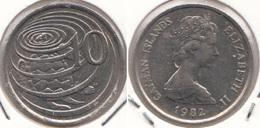 Cayman Islands 10 Cents 1982 KM#3 - Used - Cayman Islands
