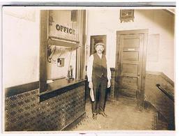 Etats Unis 1920 PHOTO 180X128 SUR CARTON HOTEL ??? - Cafés, Hôtels & Restaurants