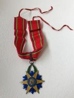 Ordre De L'etoile équatoriale Commandeur En Argent - Médailles & Décorations