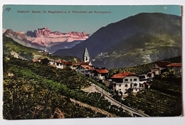 Sudtirol : Bozen - St Magdalena A.d. Rittenbahn Mit Rosengarten - Bolzano (Bozen)